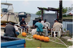Training on FAD's rigging, construction, maintenance and deployment for Yap communities